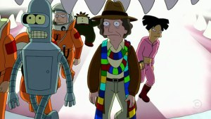 Futurama Doctor Who