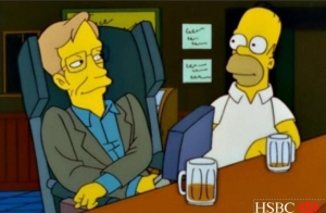 Homer and Hawking