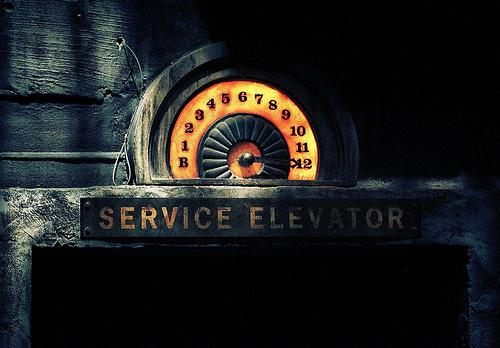 Elevator trap