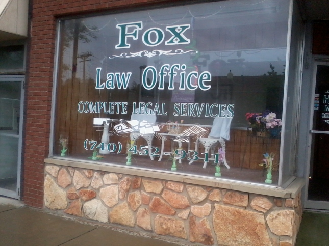 Law Office Close Up